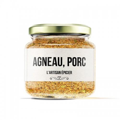 AGNEAU, PORC 65g/pot